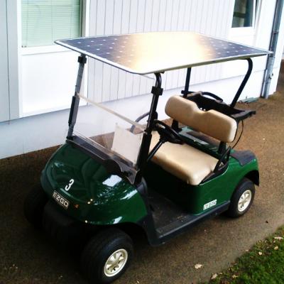Golfcart Solarmodul
