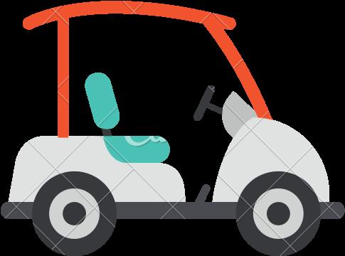 Symbol für Golfcart
