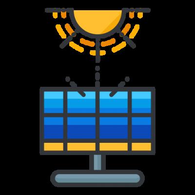 Symbol für PV-Anlagen