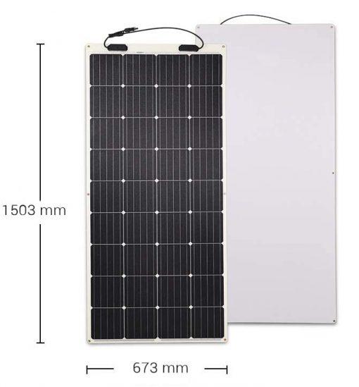 Solarmodul Surf175-F Maße