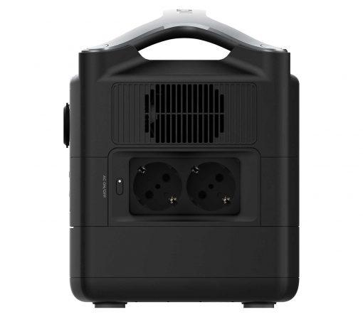 Powerstation Ecoflow River600Max AC-Anschlüsse