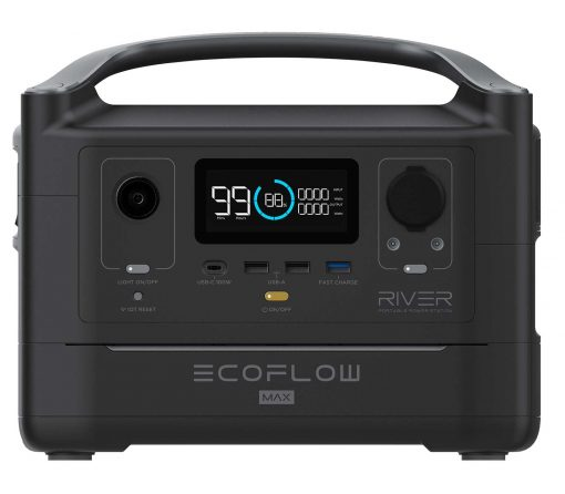 Powerstation Ecoflow River600Max Front